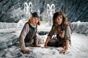 Wickie (Jonas Hämmerle) und Svenja (Valeria Eisenbart)